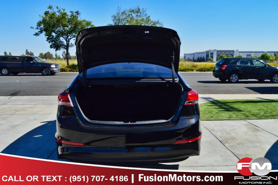 Used Hyundai Elantra SE 2.0L Auto PZEV (Alabama) *Ltd Avail* 2017 | Fusion Motors Inc. Moreno Valley, California