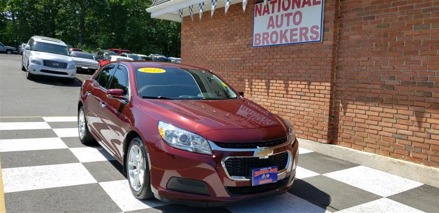 2015 Chevrolet Malibu 4dr Sdn LT, available for sale in Waterbury, Connecticut | National Auto Brokers, Inc.. Waterbury, Connecticut