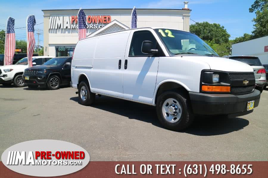 Used 2012 Chevrolet Express Cargo Van in Huntington, New York | M & A Motors. Huntington, New York