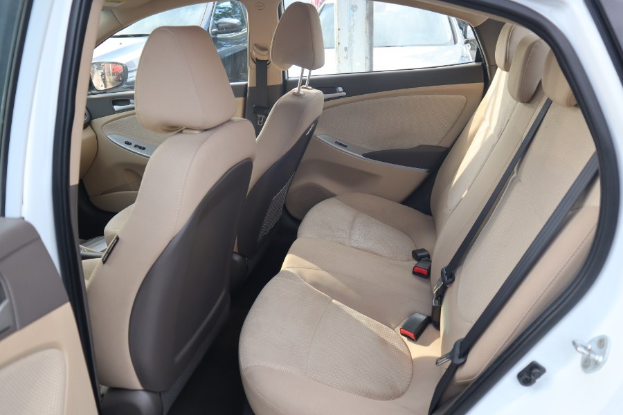 2014 Hyundai Accent 4dr Sdn Auto GLS, available for sale in Jamaica, New York | Hillside Auto Mall Inc.. Jamaica, New York