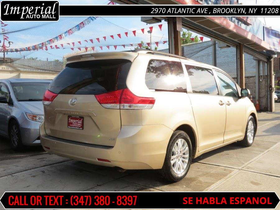 2012 Toyota Sienna 5dr 7-Pass Van V6 XLE FWD (Natl), available for sale in Brooklyn, New York | Imperial Auto Mall. Brooklyn, New York
