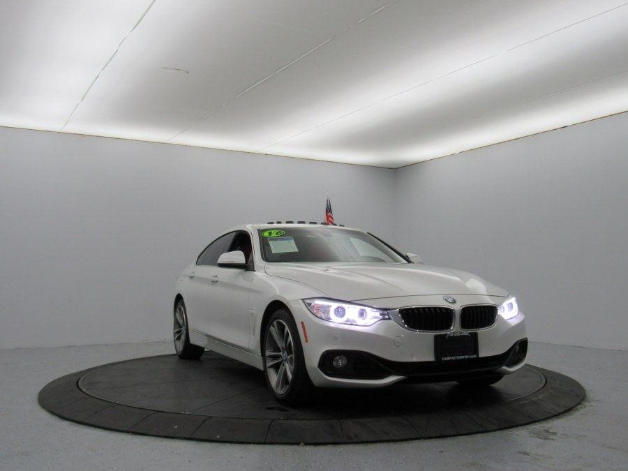 2016 BMW 4 Series 4dr Sdn 428i xDrive AWD Gran Coupe SULEV, available for sale in Bronx, New York | Car Factory Inc.. Bronx, New York