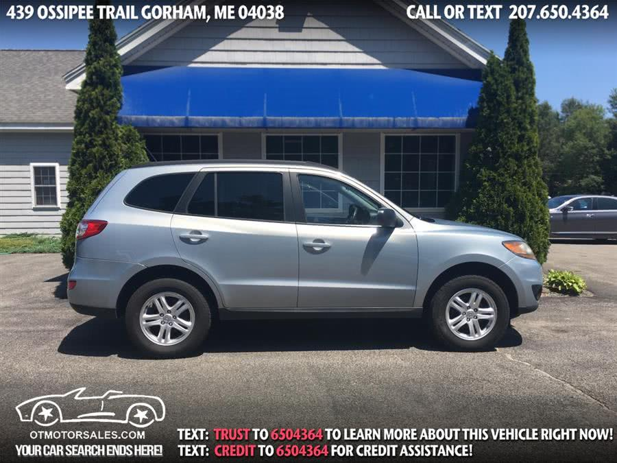 2010 Hyundai Santa Fe AWD 4dr I4 Auto GLS, available for sale in Gorham, Maine | Ossipee Trail Motor Sales. Gorham, Maine