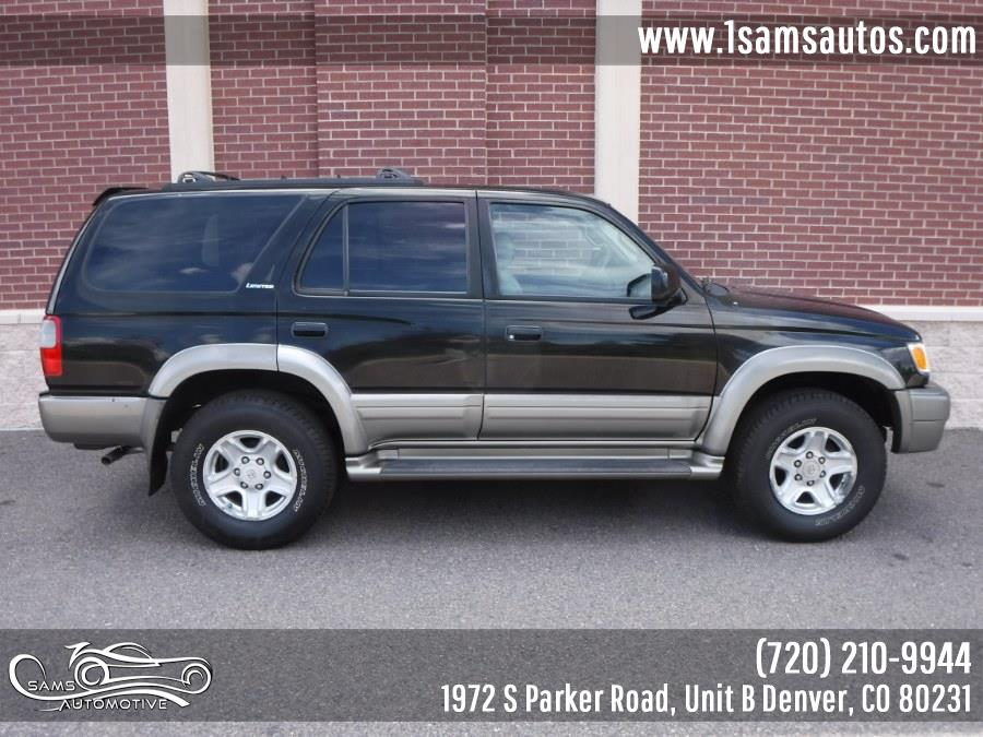 2000 Toyota 4Runner 4dr Limited 3.4L Auto 4WD, available for sale in Denver, Colorado | Sam's Automotive. Denver, Colorado