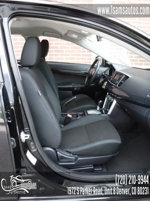 2016 Mitsubishi Lancer 4dr Sdn CVT ES FWD, available for sale in Denver, Colorado | Sam's Automotive. Denver, Colorado