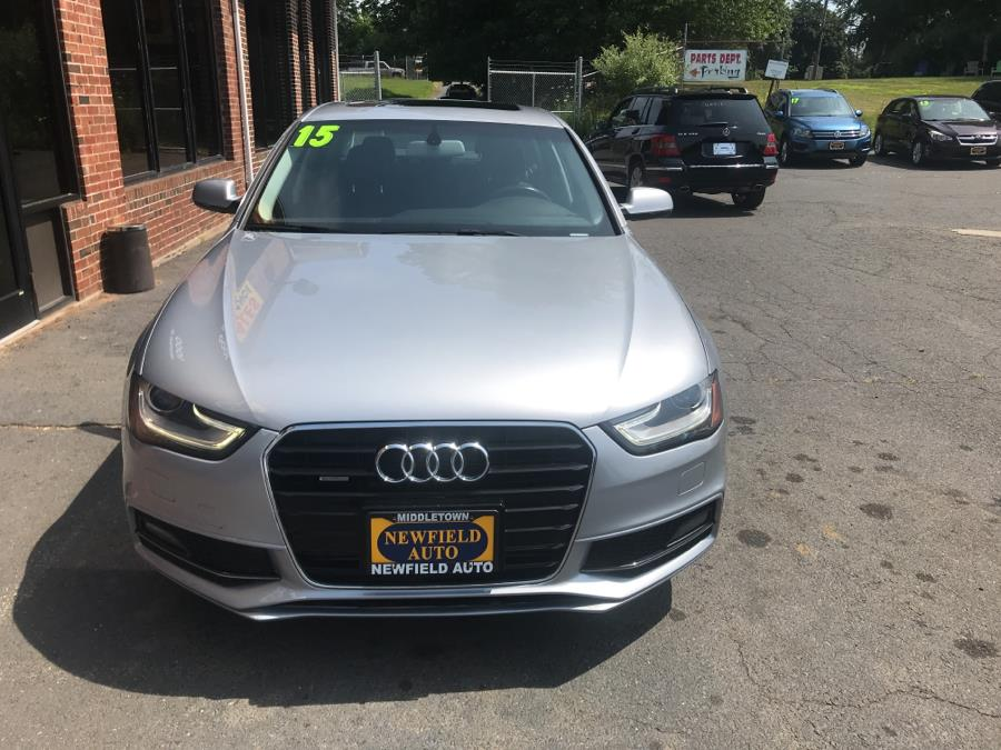 2015 Audi A4 4dr Sdn Auto quattro 2.0T Premium, available for sale in Middletown, Connecticut | Newfield Auto Sales. Middletown, Connecticut