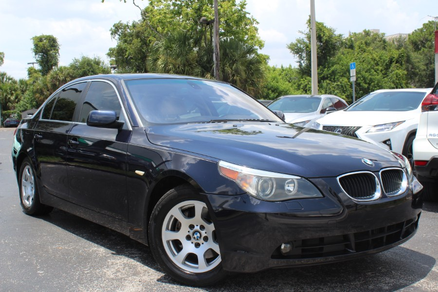 2004 BMW 5 Series 525i 4dr Sdn Auto, available for sale in Orlando, Florida | Mint Auto Sales. Orlando, Florida