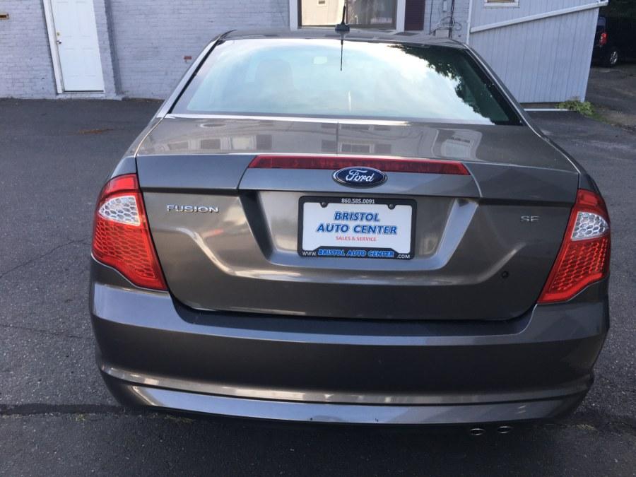 Used Ford Fusion 4dr Sdn SE FWD 2010   Bristol Auto Center LLC. Bristol, Connecticut