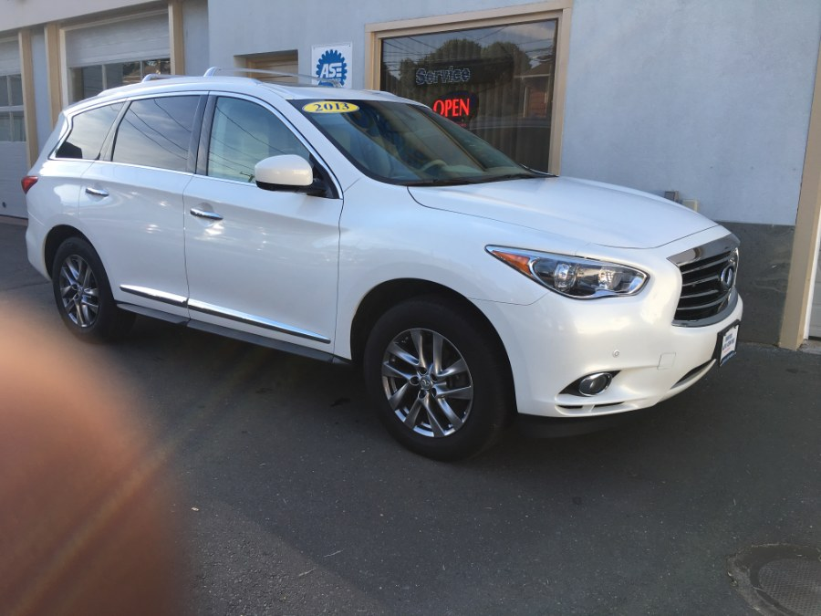 2013 Infiniti JX35 AWD 4dr, available for sale in Bristol, Connecticut | Bristol Auto Center LLC. Bristol, Connecticut