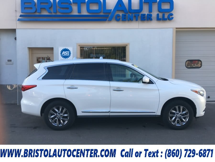 Used 2013 Infiniti JX35 in Bristol, Connecticut | Bristol Auto Center LLC. Bristol, Connecticut
