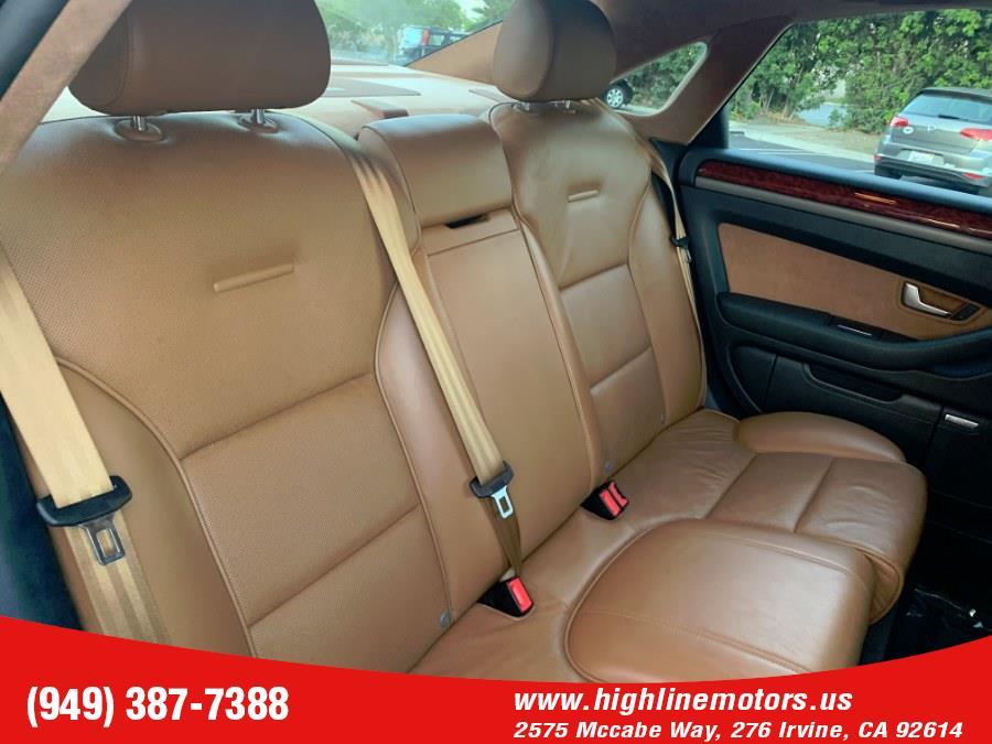 2005 Audi A8 4dr Sdn 4.2L quattro Auto, available for sale in Irvine, California   High Line Motors LLC. Irvine, California