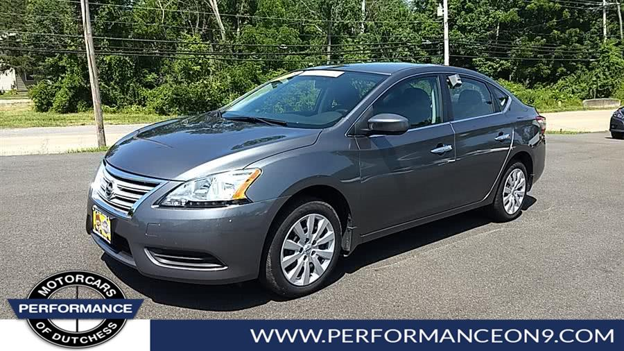 Used Nissan Sentra 4dr Sdn I4 CVT SV 2015 | Performance Motorcars Inc. Wappingers Falls, New York