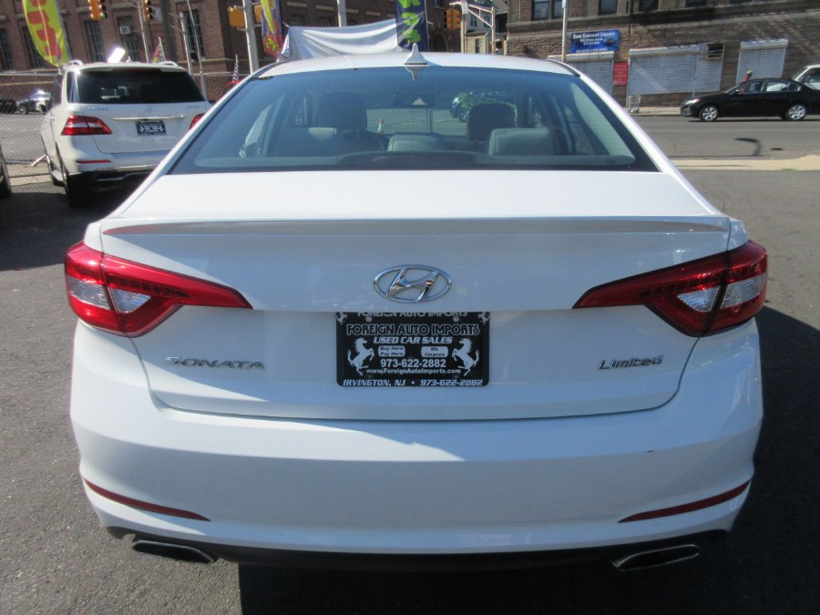 2016 Hyundai Sonata 4dr Sdn 2.4L Limited, available for sale in Irvington, New Jersey | Foreign Auto Imports. Irvington, New Jersey