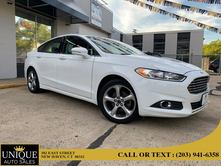 Used Ford Fusion 4dr Sdn SE FWD 2013 | Unique Auto Sales LLC. New Haven, Connecticut