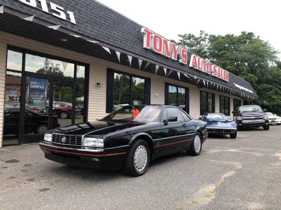 Used 1992 Cadillac Allante'' in Waterbury, Connecticut | Tony's Auto Sales. Waterbury, Connecticut