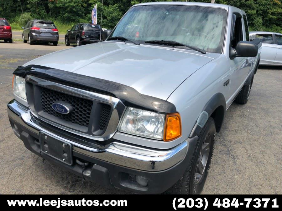 2004 Ford Ranger 4dr Supercb 4.0L XLT FX4 Off-Rd 4WD, available for sale in North Branford, Connecticut | LeeJ's Auto Sales & Service. North Branford, Connecticut