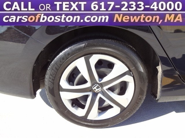 Used Honda Civic Sedan 4dr CVT LX 2016 | Motorcars of Boston. Newton, Massachusetts