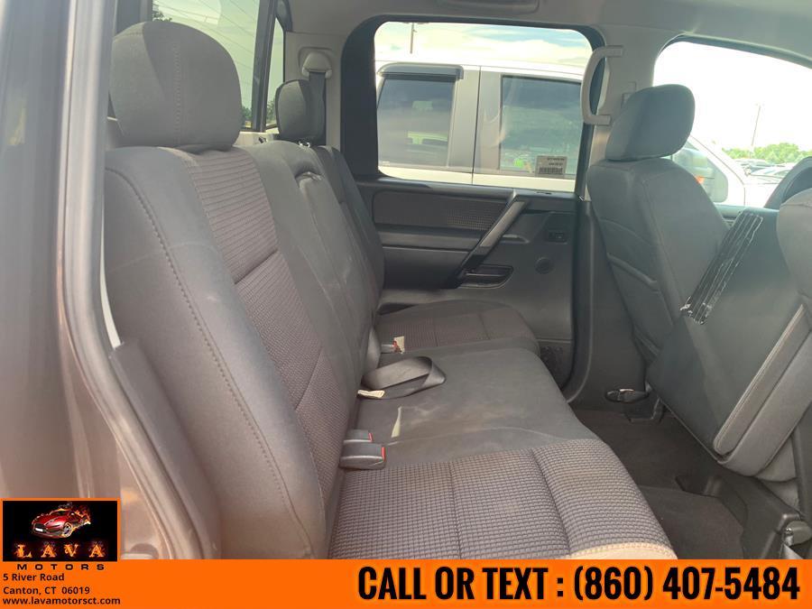 2008 Nissan Titan 4WD Crew Cab SWB XE, available for sale in Canton, Connecticut | Lava Motors. Canton, Connecticut
