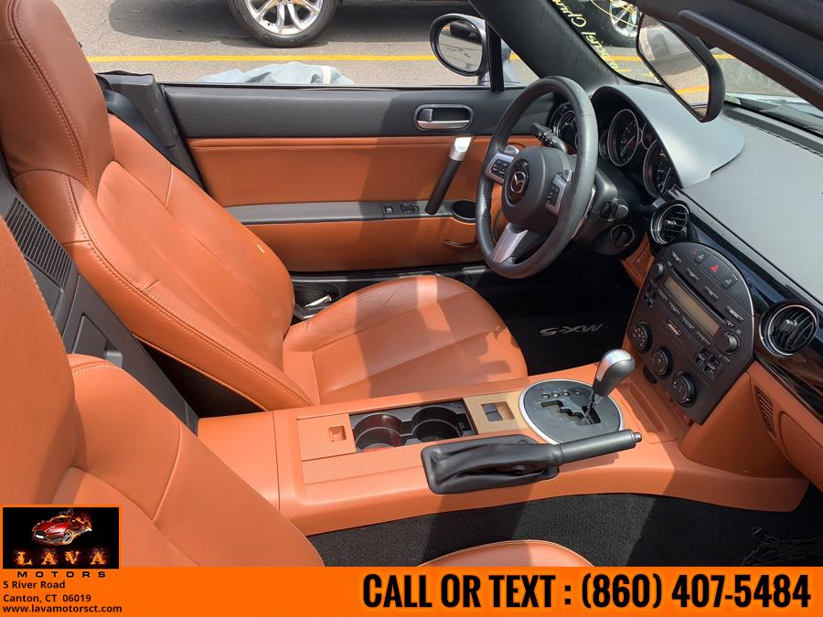 Used Mazda MX-5 Miata 2dr Conv PRHT Manual Grand Touring 2007 | Lava Motors. Canton, Connecticut