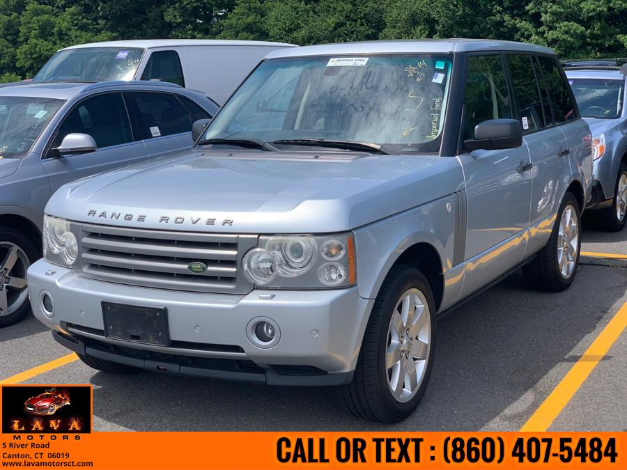 2006 Land Rover Range Rover 4dr Wgn HSE, available for sale in Canton, Connecticut | Lava Motors. Canton, Connecticut