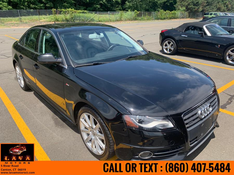 2012 Audi A4 4dr Sdn Auto quattro 2.0T Premium Plus, available for sale in Canton, Connecticut | Lava Motors. Canton, Connecticut