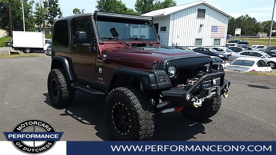 2004 Jeep Wrangler 2dr Sport, available for sale in Wappingers Falls, New York | Performance Motorcars Inc. Wappingers Falls, New York