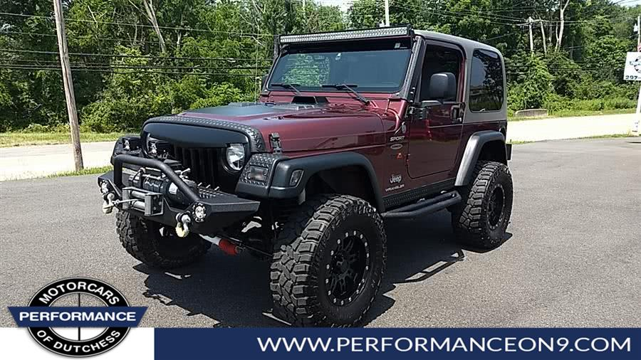 Used Jeep Wrangler 2dr Sport 2004 | Performance Motorcars Inc. Wappingers Falls, New York