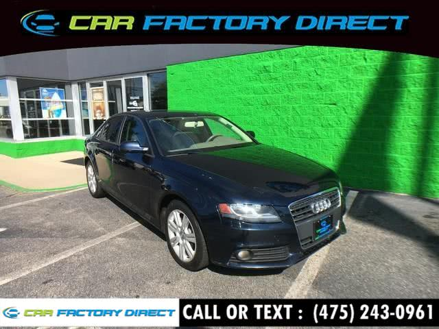 Used 2011 Audi A4 in Milford, Connecticut | Car Factory Direct. Milford, Connecticut