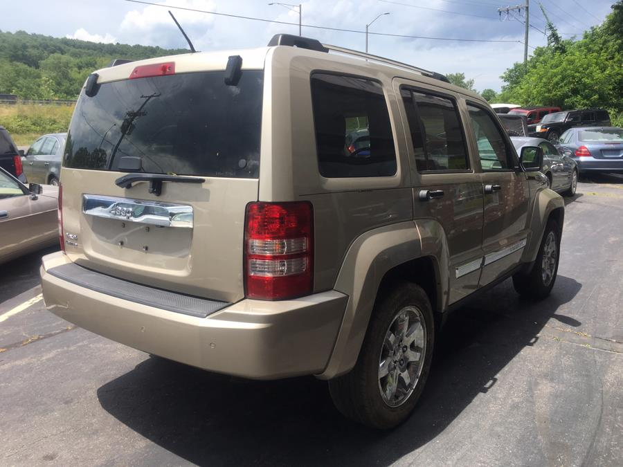 2010 Jeep Liberty 4WD 4dr Limited, available for sale in Naugatuck, Connecticut | Riverside Motorcars, LLC. Naugatuck, Connecticut
