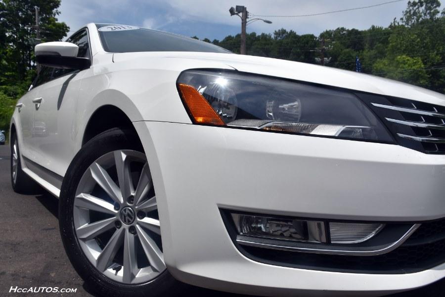 2013 Volkswagen Passat 4dr Sdn 2.5L Auto SEL Premium PZEV, available for sale in Waterbury, Connecticut   Highline Car Connection. Waterbury, Connecticut