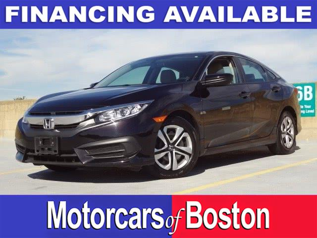 Used 2016 Honda Civic Sedan in Newton, Massachusetts | Motorcars of Boston. Newton, Massachusetts