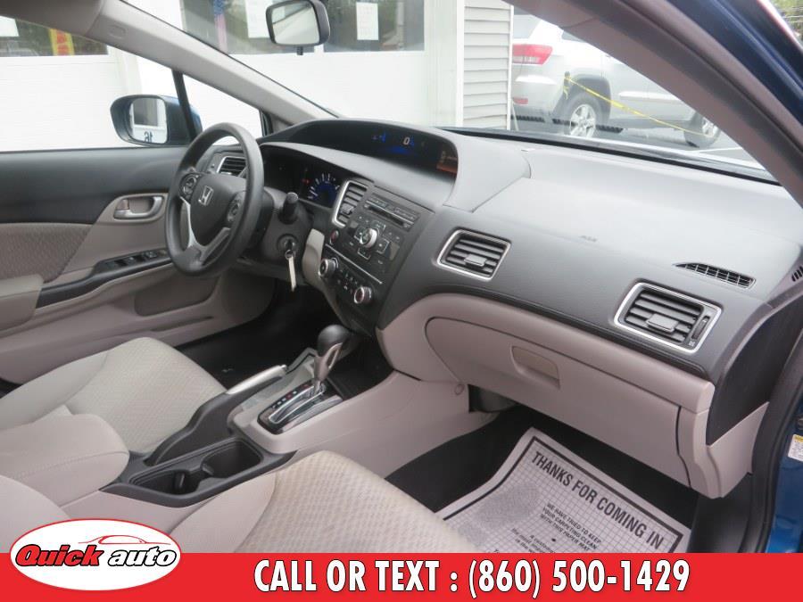 2015 Honda Civic Sedan 4dr CVT LX, available for sale in Bristol, Connecticut | Quick Auto LLC. Bristol, Connecticut