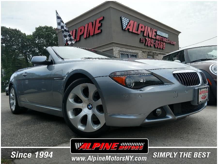 Used 2004 BMW 6 Series in Wantagh, New York   Alpine Motors Inc. Wantagh, New York