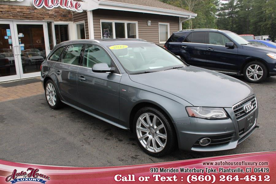 2012 Audi A4 4dr Avant Wgn Auto quattro 2.0T Premium  Plus, available for sale in Plantsville, Connecticut | Auto House of Luxury. Plantsville, Connecticut
