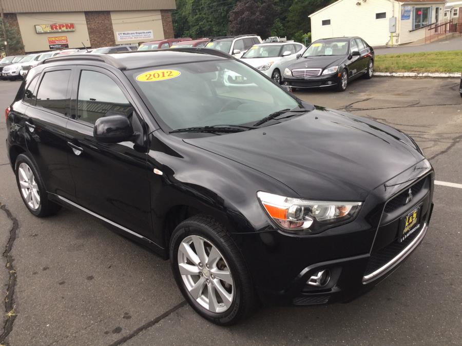 2012 Mitsubishi Outlander Sport AWD 4dr CVT SE, available for sale in Plantsville, Connecticut | L&S Automotive LLC. Plantsville, Connecticut