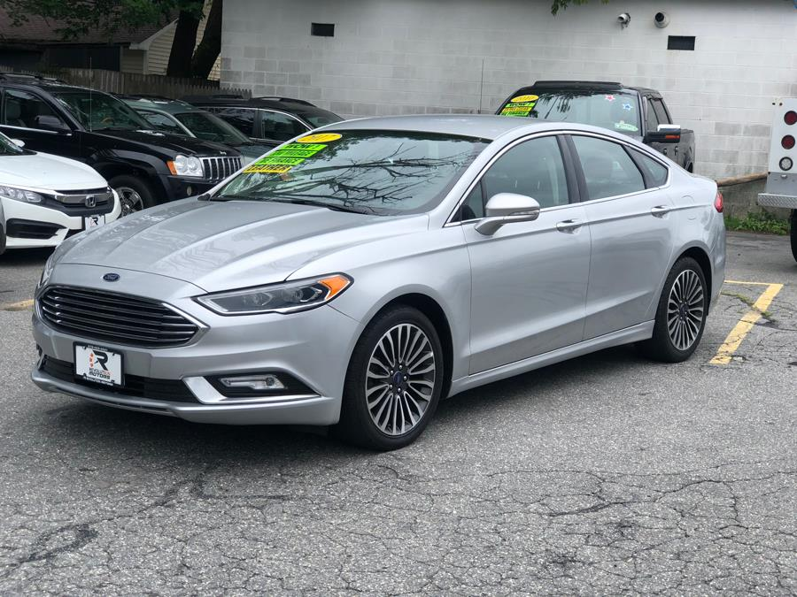 2017 Ford Fusion Titanium FWD, available for sale in Lowell, Massachusetts | Revolution Motors . Lowell, Massachusetts
