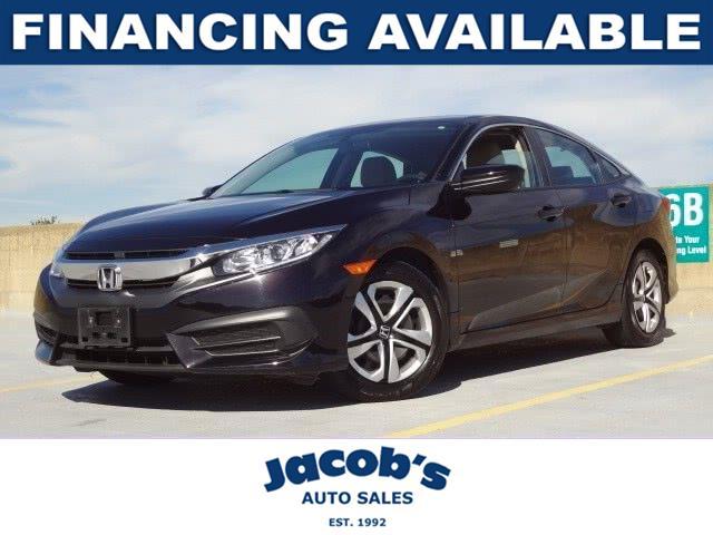 Used Honda Civic Sedan 4dr CVT LX 2016 | Jacob Auto Sales. Newton, Massachusetts