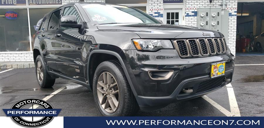 2016 Jeep Grand Cherokee 4WD 4dr Laredo, available for sale in Wilton, Connecticut | Performance Motor Cars. Wilton, Connecticut