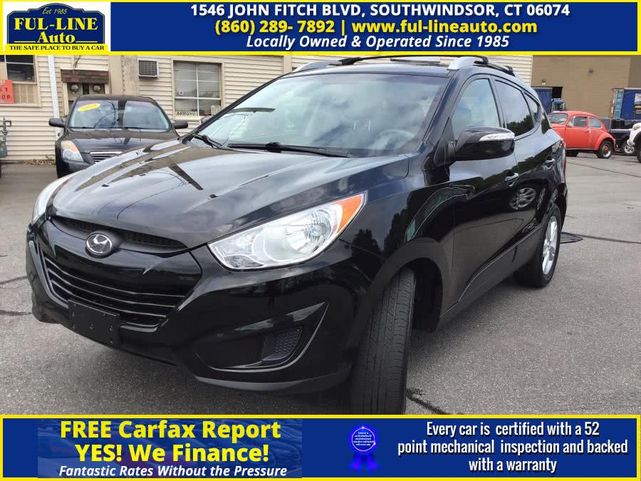 Used Hyundai Tucson AWD 4dr Auto GLS 2012 | Ful-line Auto LLC. South Windsor , Connecticut