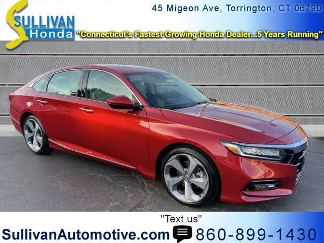Used Honda Accord Touring 2018 | Sullivan Automotive Group. Avon, Connecticut