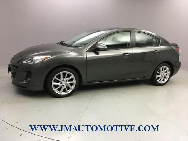 2012 Mazda Mazda3 4dr Sdn Auto s Grand Touring *Ltd A, available for sale in Naugatuck, Connecticut | J&M Automotive Sls&Svc LLC. Naugatuck, Connecticut