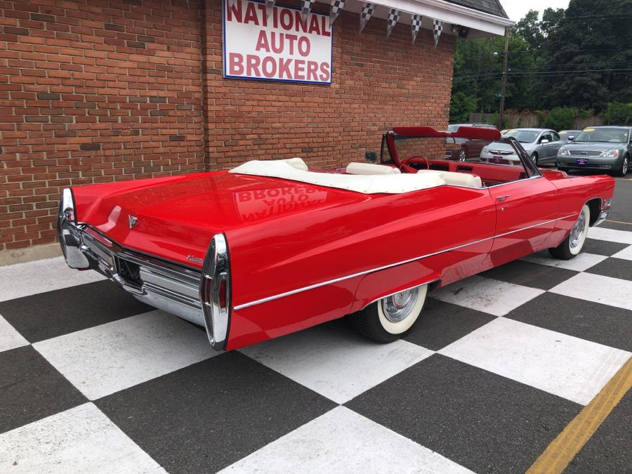 1968 Cadillac Coupe 2dr Convertible, available for sale in Waterbury, Connecticut | National Auto Brokers, Inc.. Waterbury, Connecticut