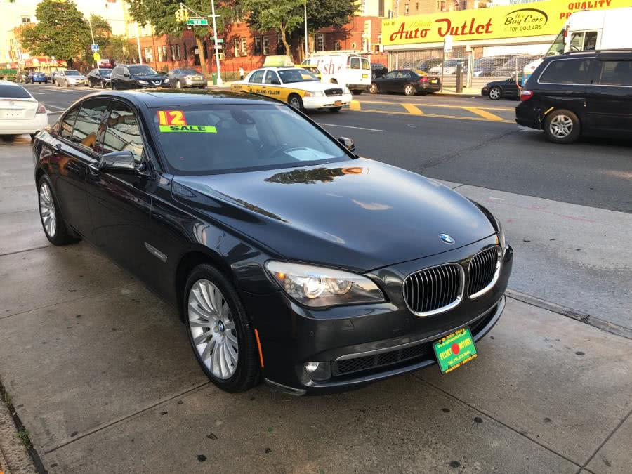 Used 2012 BMW 7 Series in Jamaica, New York | Sylhet Motors Inc.. Jamaica, New York
