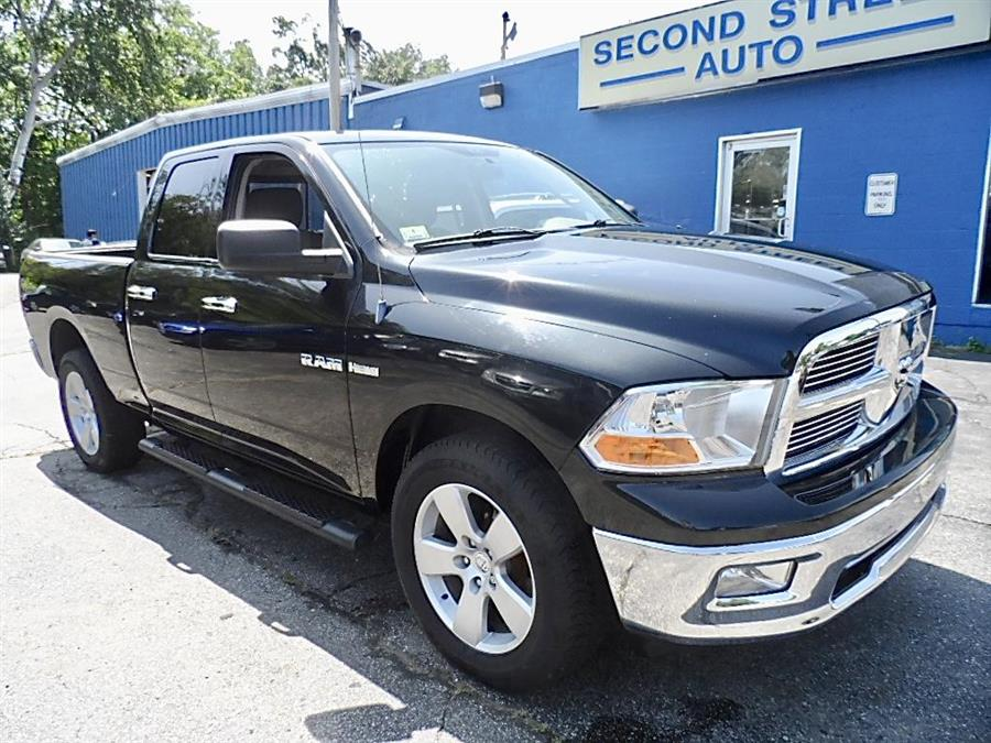 2009 Dodge Ram Pickup 1500 4DR QUAD CAB SLT 4WD SB, available for sale in Manchester, New Hampshire | Second Street Auto Sales Inc. Manchester, New Hampshire