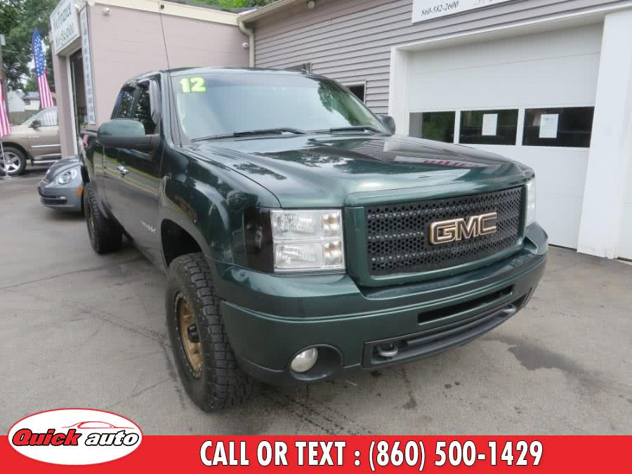 "2012 GMC Sierra 1500 4WD Ext Cab 143.5"" SLE, available for sale in Bristol, CT"