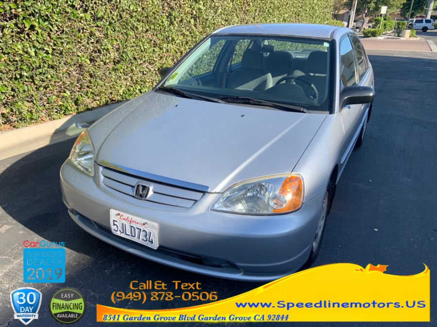 Used 2001 Honda Civic in Garden Grove, California | Speedline Motors. Garden Grove, California