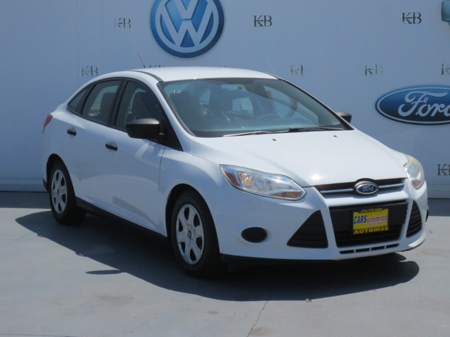 2014 Ford Focus 4dr Sdn S, available for sale in Santa Ana, California | Auto Max Of Santa Ana. Santa Ana, California