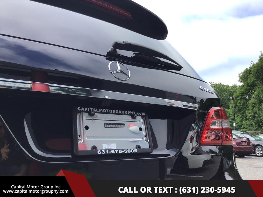 2015 Mercedes-Benz M-Class 4MATIC 4dr ML350, available for sale in Medford, New York | Capital Motor Group Inc. Medford, New York