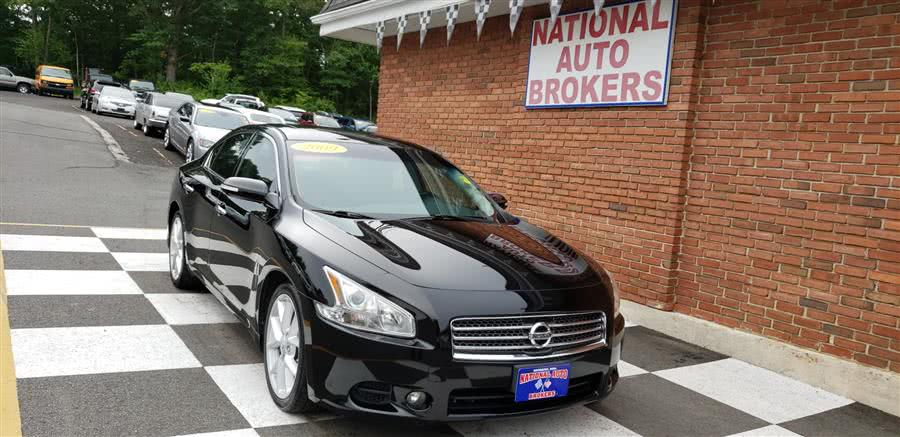 2009 Nissan Maxima 4dr SV w/Premium Pkg, available for sale in Waterbury, Connecticut | National Auto Brokers, Inc.. Waterbury, Connecticut