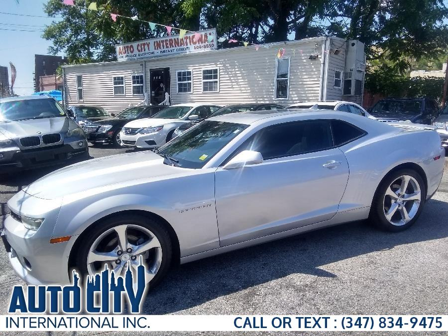 2015 Chevrolet Camaro 2dr Cpe LT w/1LT, available for sale in Brooklyn, New York | Auto City Int Inc. Brooklyn, New York